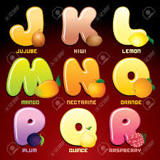 fruits and berries in alphabetical order stock photo picture and fruits and berries in alphabetical order stock photo 19574358