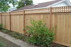 Wooden Privacy Fence in Manassas, Va