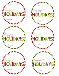sets of printable christmas gift tags