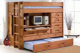 bunk bed with desk and storage bunk beds desk drawers bunk