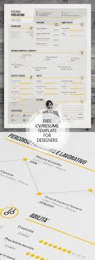professional cv resume and cover letter psd templates 06 creative lancer designer resume template psd