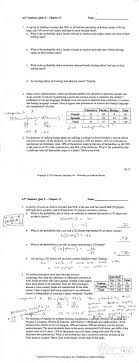 top ideas about ap statistics statistics ap statistics quiz b acirc chapter 15 magazine 2 pages