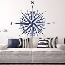 "<b>Compass</b> Wall Decal ""The Matilda"" fits walls, ceilings, tables and ..."