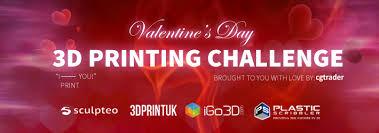 <b>Valentine's Day</b> 3D <b>Printing</b> Challenge: The Best 3D Prints To ...
