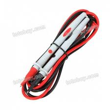 uni t ut l16 multimeter connectors accessories probes test leads double insulated silica gel wire material