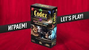 Настольная <b>игра</b> «CODEX: Стартовый <b>набор</b>» ИГРАЕМ! - YouTube