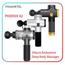 Phoenix A2 Electronic Massage Gun Powerful Body Massager ...