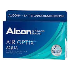 <b>Контактные линзы Air</b> Optix Aqua на месяц, -4.75 3шт. - купить ...