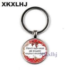 <b>XKXLHJ Fashion</b> Teacher Gift Gift Super Mistress Keychain Men's ...
