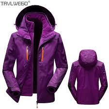 <b>TRVLWEGO</b> Men Women Winter Waterproof Coat 3 in 1 <b>Jacket</b> ...