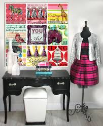 bedroom 19 cute teenage room ideas with colorful designs antique black desk with white