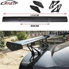"110CM 43.3""Aluminum Hatchback <b>Car</b> Rear Spoiler Universal Black ..."