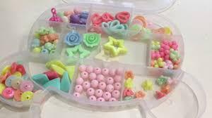 Бусы для девочек <b>набор бусинок</b> для детского творчества ...