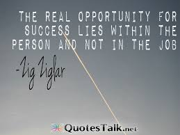 Real Opportunity Quotes. QuotesGram via Relatably.com