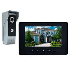 AMOCAM Wired Video Intercom System, 7 Inches ... - Amazon.com