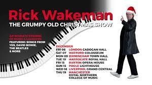 <b>Rick Wakeman - The</b> Grumpy Old Christmas Show (2019 UK tour ...