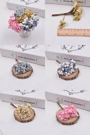 [Visit to Buy] 10pcs Berry <b>Artificial bright Stamen</b> Handmade Flower ...