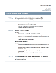 Example Resume  Resume Template Engineer Electrical Engineering     Rufoot Resumes  Esay  and Templates       images about Best Engineering Resume Templates  amp  Samples on Pinterest