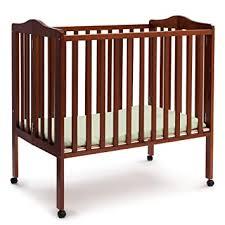 Delta Children Folding Portable Mini Baby Crib with ... - Amazon.com