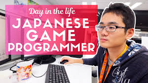 Day in the Life of a Japanese <b>Game Programmer</b> - YouTube