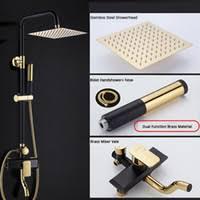 <b>Faucets Gold</b> Shower NZ