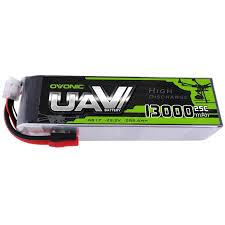<b>Ovonic</b> 6S <b>22.2V</b> 13000mAh 25C LiPo Battery <b>Pack</b> with AS150 ...