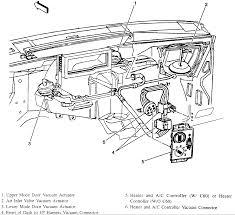 s engine compartment diagram gmc sonoma chevy s 10 transfer case vacuum switch