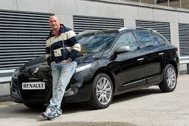 photo of Dean Saunders Renault Megane - car