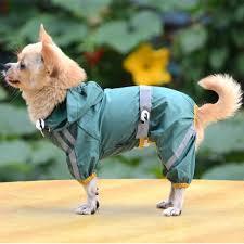 <b>Waterproof Dog</b> Clothes for Small <b>Dogs Pet</b> Rain <b>Coats</b> Jacket ...