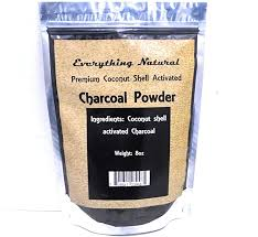 <b>Coconut Activated Charcoal</b> Powder, Large 8 Oz. Ultra Fine . Food ...