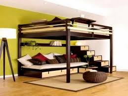 Loft Bed With Sofa White Futon Bunk Bed Loft Bed Concept With Study Table And Folding
