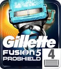 <b>Gillette</b> Fusion5 <b>ProShield</b> Chill Сменные <b>Кассеты Для</b> Бритвы, С ...