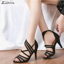 <b>Women</b> Dance Shoes <b>Latin Flannel</b> and Mesh Salsa Dance Shoes ...