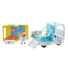 Игровой набор <b>Peppa Pig Медицинский центр</b> на колесах (06722 ...