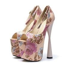 Spring <b>Fashion Women'S Super High</b> Heels 19cm Shoes Strange ...