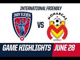 HIGHLIGHTS - Indy Eleven 0 : 0 Monarcas Morelia - June 28, 2015 ...
