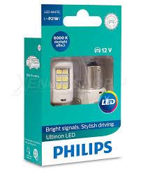 Светодиодные <b>лампы</b> P21W <b>Philips Ultinon</b> LED Белые