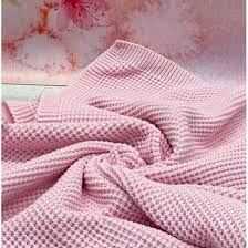 <b>Вязаный плед</b> для новорожденных Кукуруза розовый купить