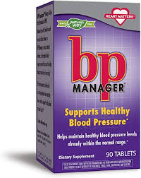 Nature's Way <b>BP Manager</b> Supports Healthy <b>Blood Pressure</b>, <b>90</b> Count
