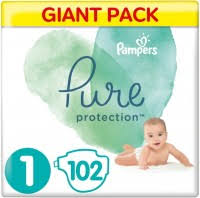 <b>Pampers Pure</b> Protection 1 / 102 pcs – купить <b>подгузники</b> ...