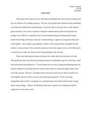group work essay  www gxart orgreflective essay on group work  in people like us david brooks seeks to show us that the eng pages english group