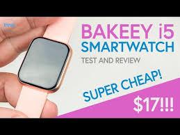 BAKEEY i5 <b>Smartwatch</b> Review     SUPER CHEAP BUDGET ...