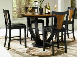 dining table set sidetracked pertaining pub kitchen table lifeahouse pertaining to new house round pub dining