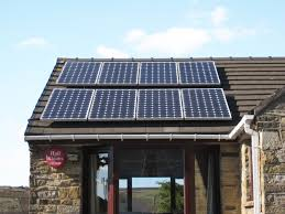 Image result for solar panels on house