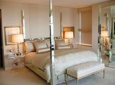 mirrored bed added drama mirrored bedroom furniture