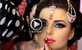 here is an easy video tutorial for asian bridal makeup for stani and indian brides have