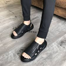 sandals Wear sandals and slippers <b>men's</b> sandals 2019 new ...