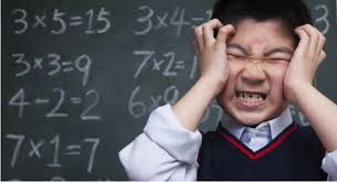 Image result for frustrated kid maths