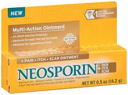 Neosporin® <b>Multi</b>-<b>Action</b> + <b>Pain Itch Scar</b> First Aid Antibiotic/<b>Pain</b> ...