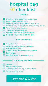 best ideas about hospital bag checklist this hospital bag checklist helps you know what to pack to be prepared for your delivery